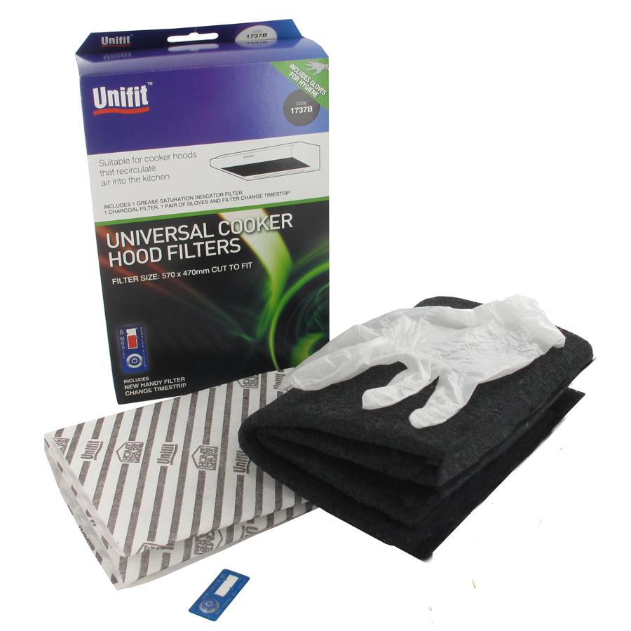 Image of Unifit Universal Cooker Hood Indoor Filters