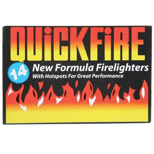 Image of Quickfire Firelighters – Pack of 14