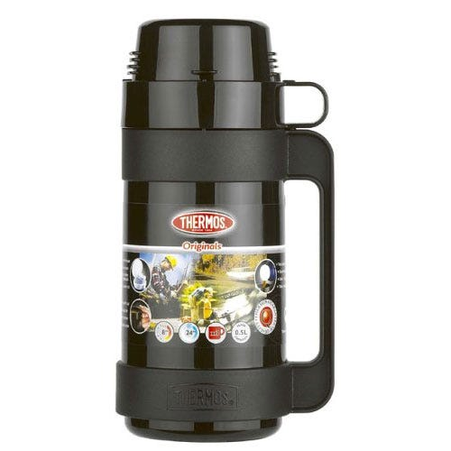 Thermos Originals 500ml Flask - Black