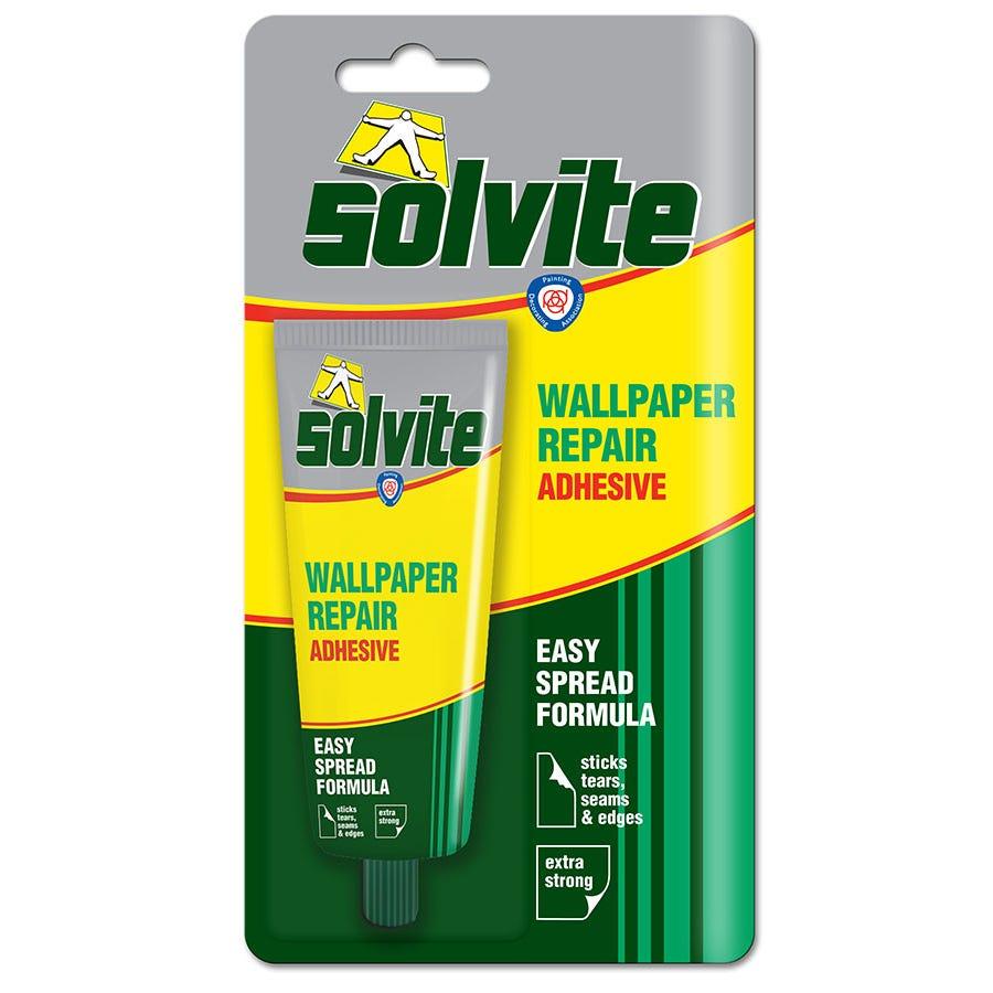 Image of Solvite Wallpaper Adhesive Tube
