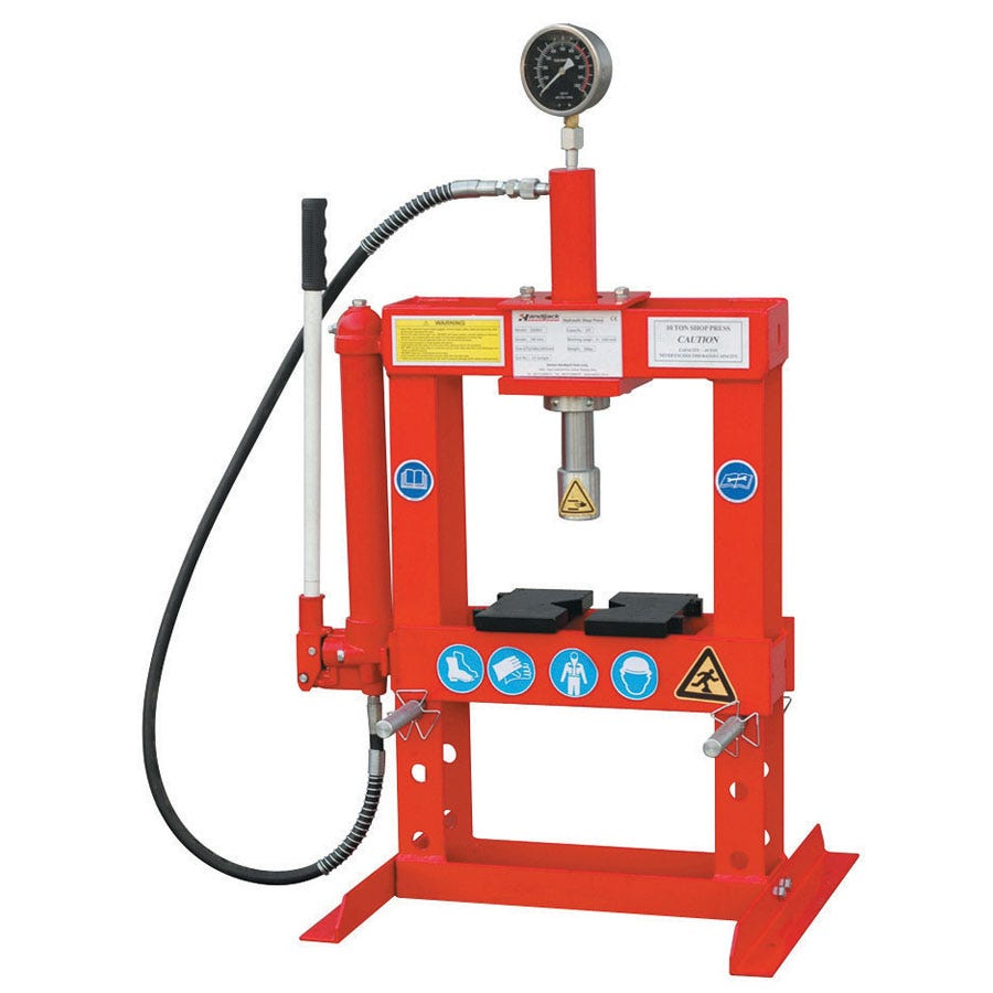 Compare prices for Hilka 10 Tonne Bench Top Shop Press