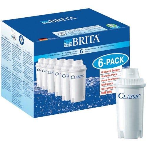 Image of Brita Classic Water Filter Cartridges – Pack of 6