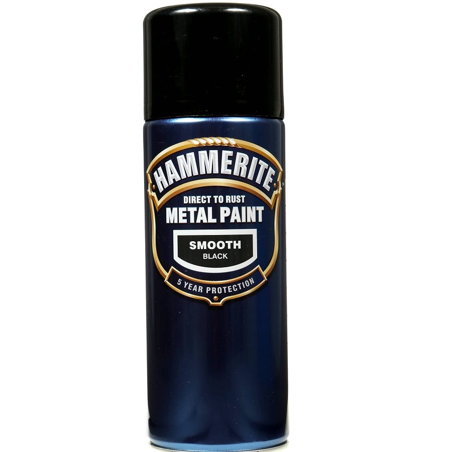 Compare prices for Hammerite Smooth Black 400ml