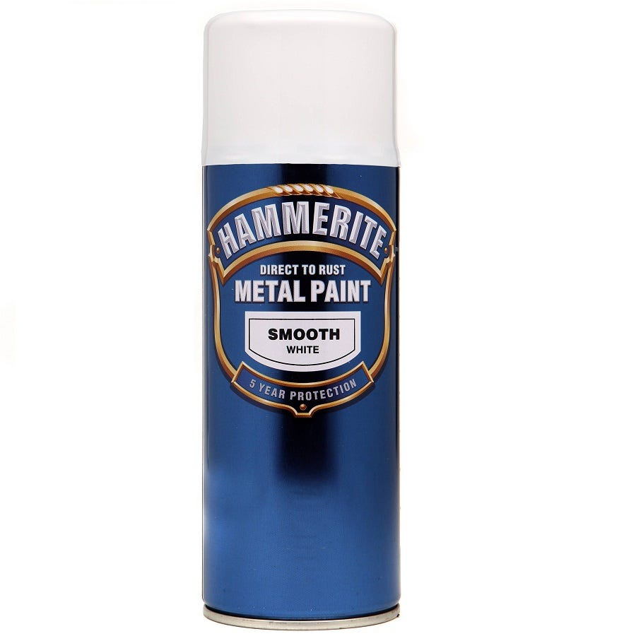 Compare prices for Hammerite Metal Paint Smooth White 400ml