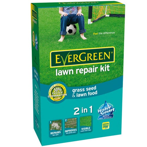 Compare prices for Evergreen Lawn Repair Kit - 1kg