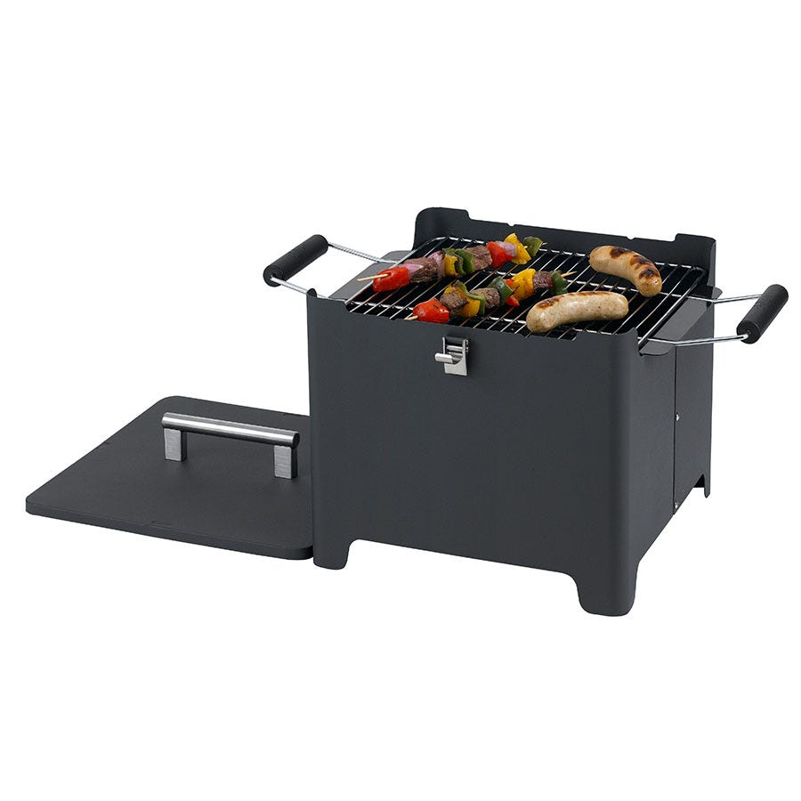 Image of Tepro Cube Chill&Grill Barbecue in Anthracite