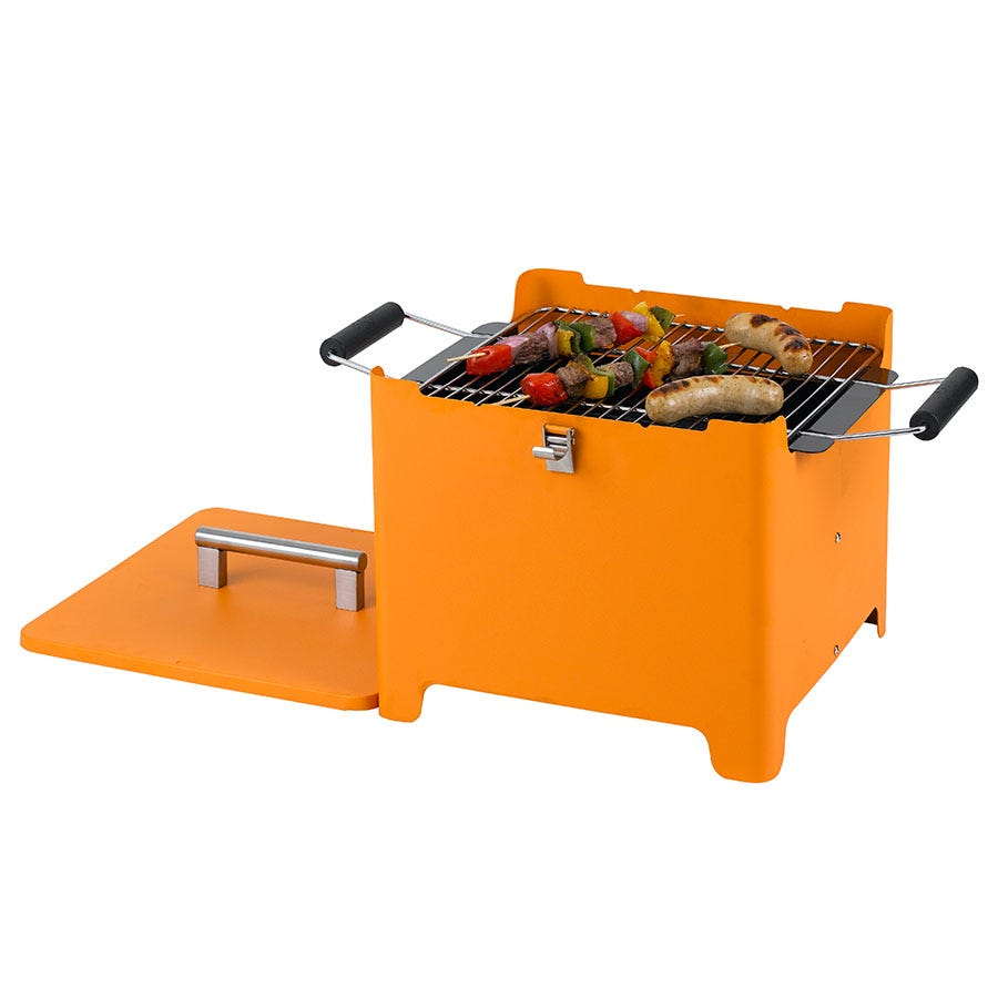 Image of Tepro Cube Chill&Grill Barbecue in Orange
