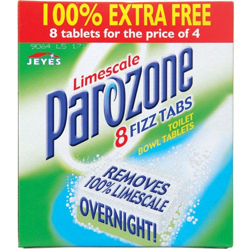 Image of Parazone Limescale Fizz Tablets