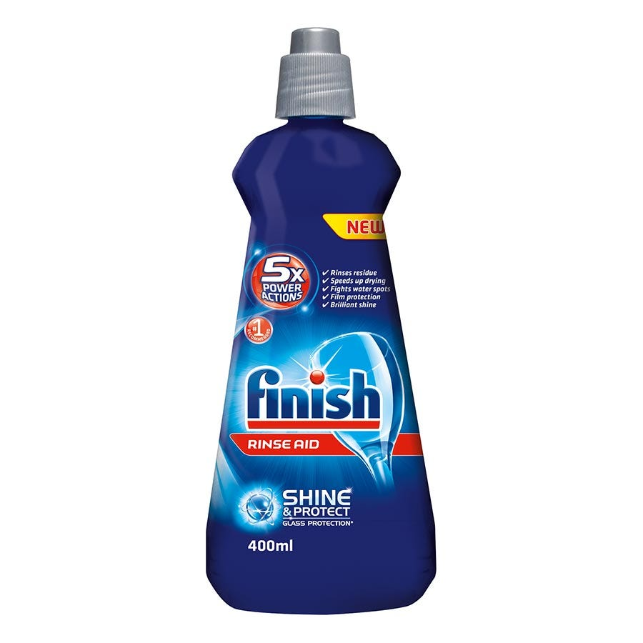 Compare prices for Finish Rinse Aid 400ml