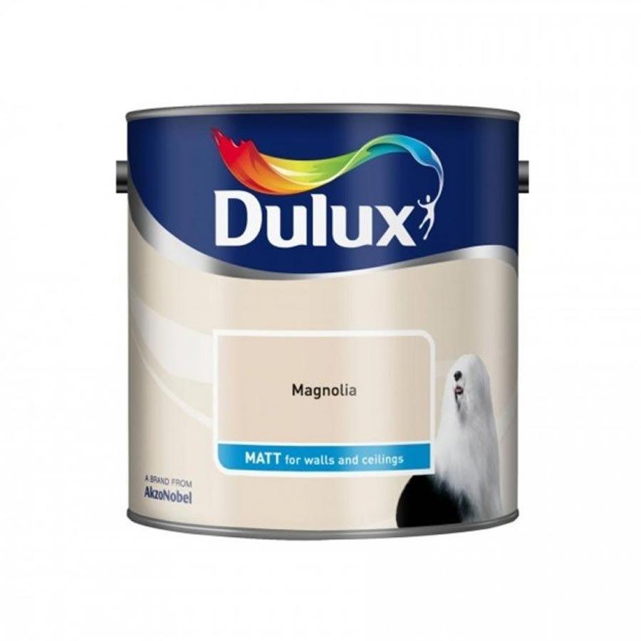 Image of Dulux Magnolia - Matt - 2.5L