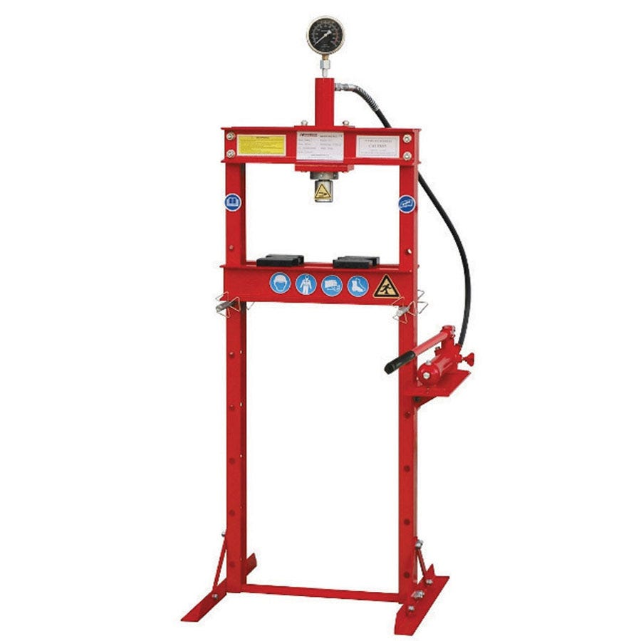 Compare prices for Hilka 12 Tonne Bench Shop Press