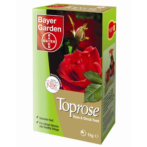 Compare prices for Bayer Toprose Rose and Shrub Feed - 1kg