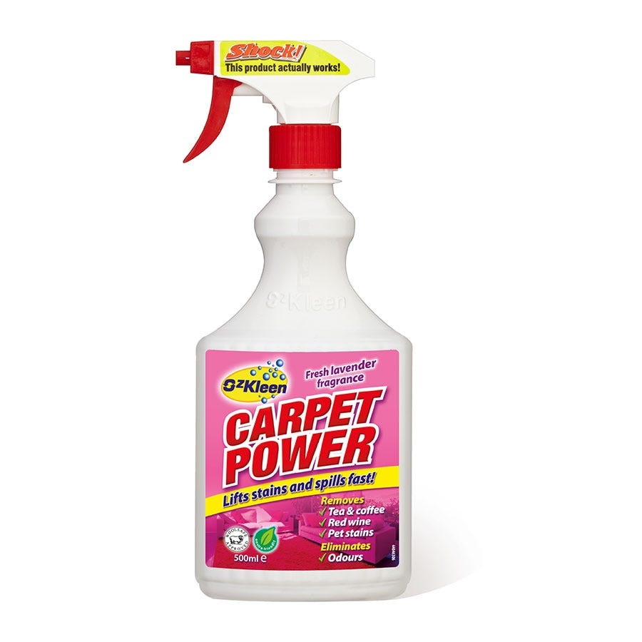 Compare prices for Oz Kleen Oz-Kleen Carpet Power - 500ml