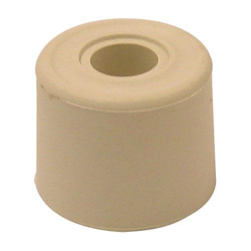 Robert Dyas/Building & Timber Products/Doors & Floors/Select Hardware Door Stop Rubber Screw-In  (2 Pack)  - White