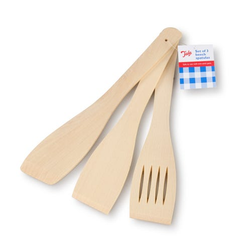 Compare prices for Tala FSC Beech Wood Cooking Spatulas - Set of 3