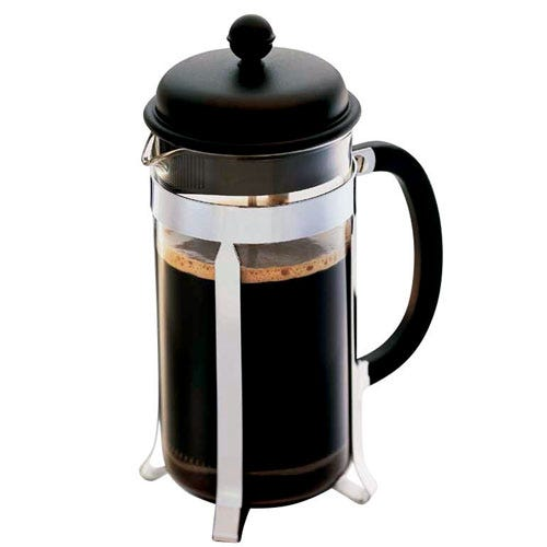 Compare retail prices of Bodum 8-Cup Cafetiere - Black to get the best deal online