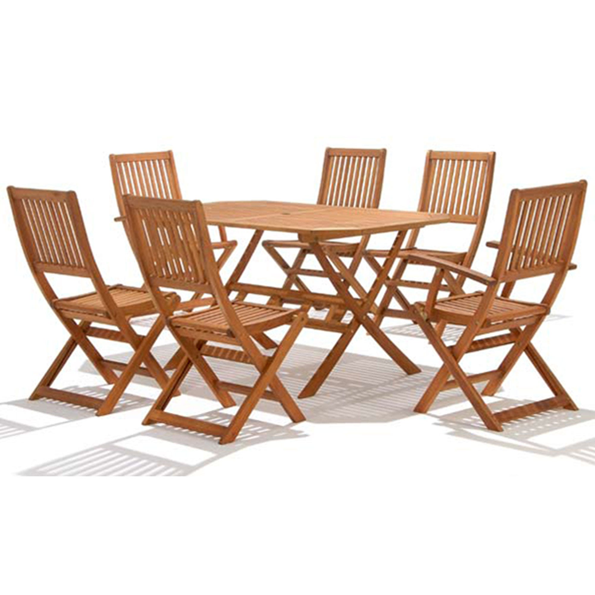 Image of Country Hardwood Outdoor Table – 150cm