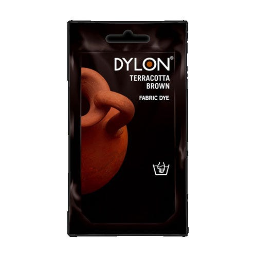 Compare prices for Dylon Hand Wash Fabric Dye - Terracotta Brown
