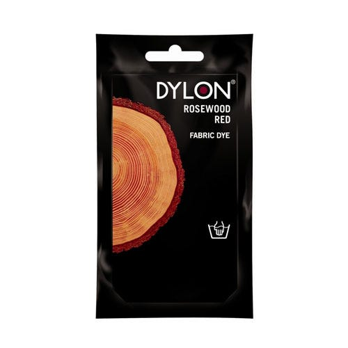 Compare prices for Dylon Hand Wash Fabric Dye - Rosewood Red