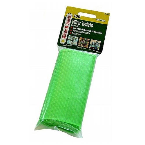 Compare prices for Gardman 127mm Wire Twists - 100 Pack