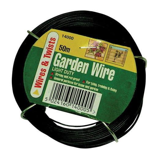 Compare prices for Gardman Light Duty Garden Wire - 50m