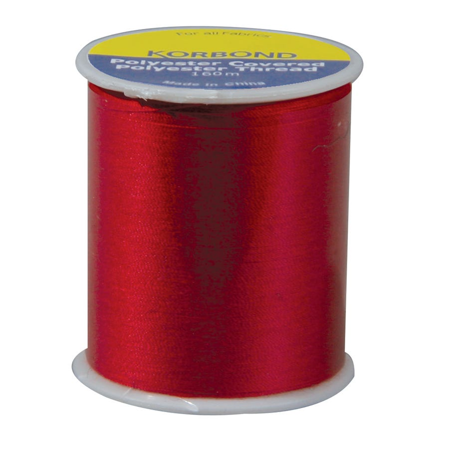 Compare prices for Korbond Thread Atom Red 160m