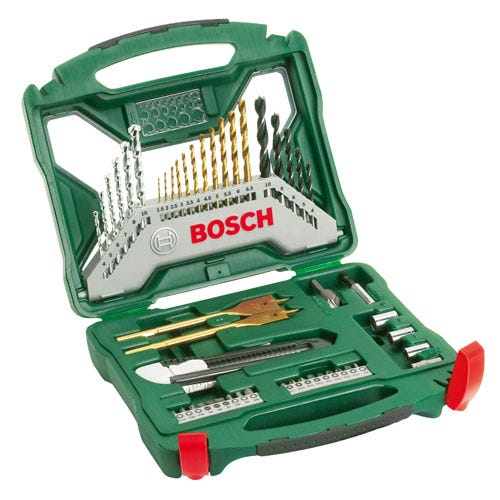 Compare retail prices of Bosch 50 Piece Drill Bit Set to get the best deal online