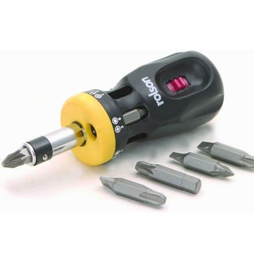rolson 12 in 1 ratchet screwdriver set. Black Bedroom Furniture Sets. Home Design Ideas