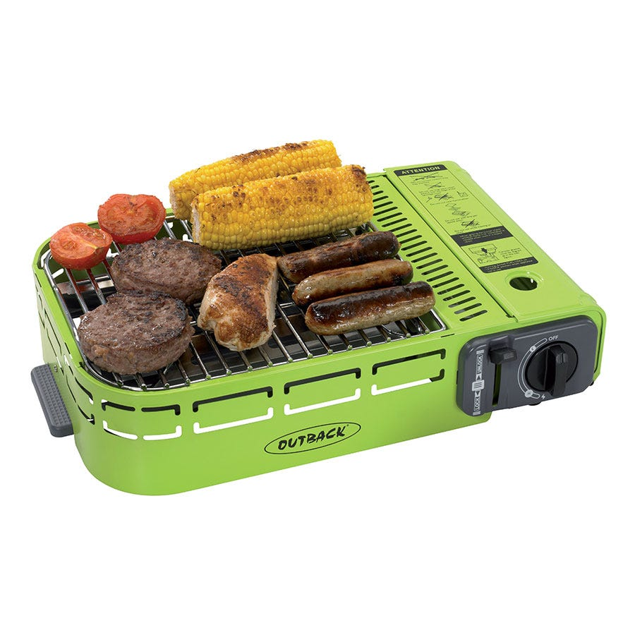 Image of Outback Compact U-Grill with Plastic Carry Case
