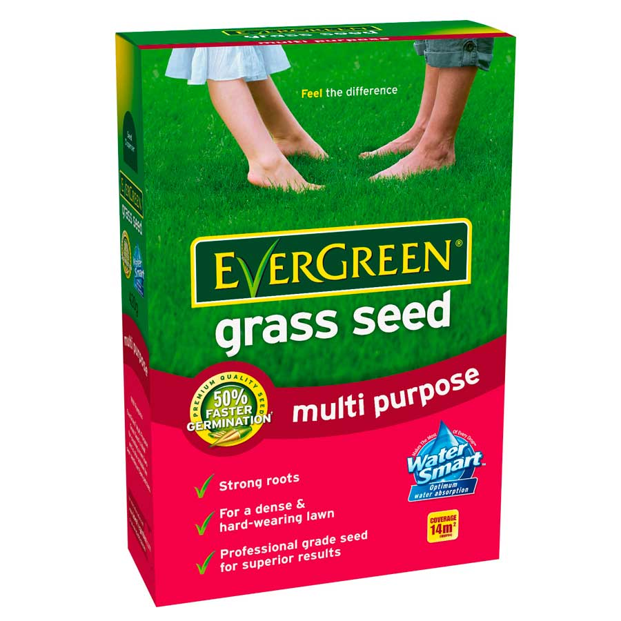 Compare prices for Evergreen Grass Seed Multi-Purpose 420g