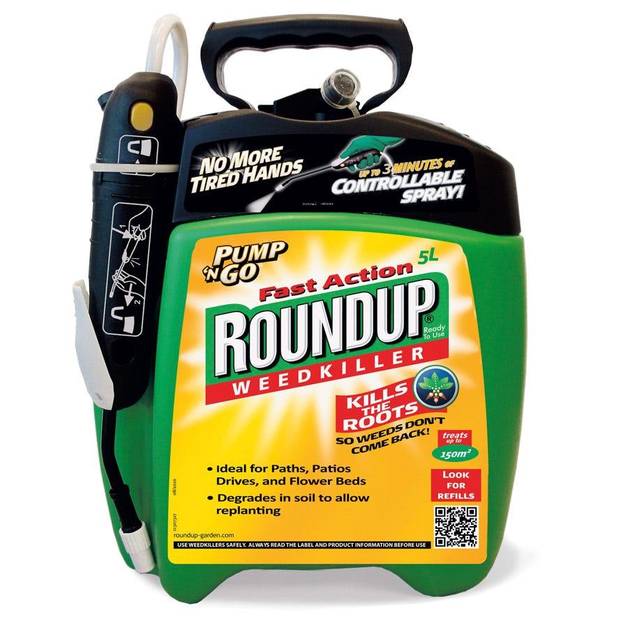 Image of Roundup Pump 'N' Go Weedkiller 5L
