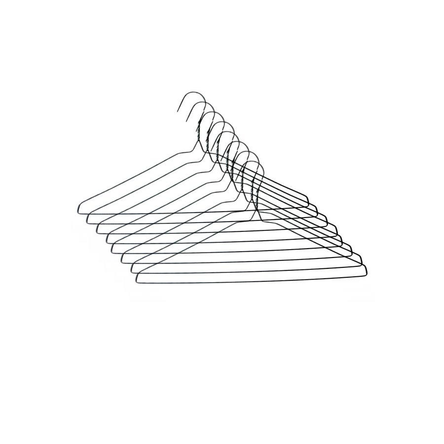 Robert Dyas/Cleaning & Decorating/Cleaning Power/Robert Dyas Wire Hanger - 8 Pack