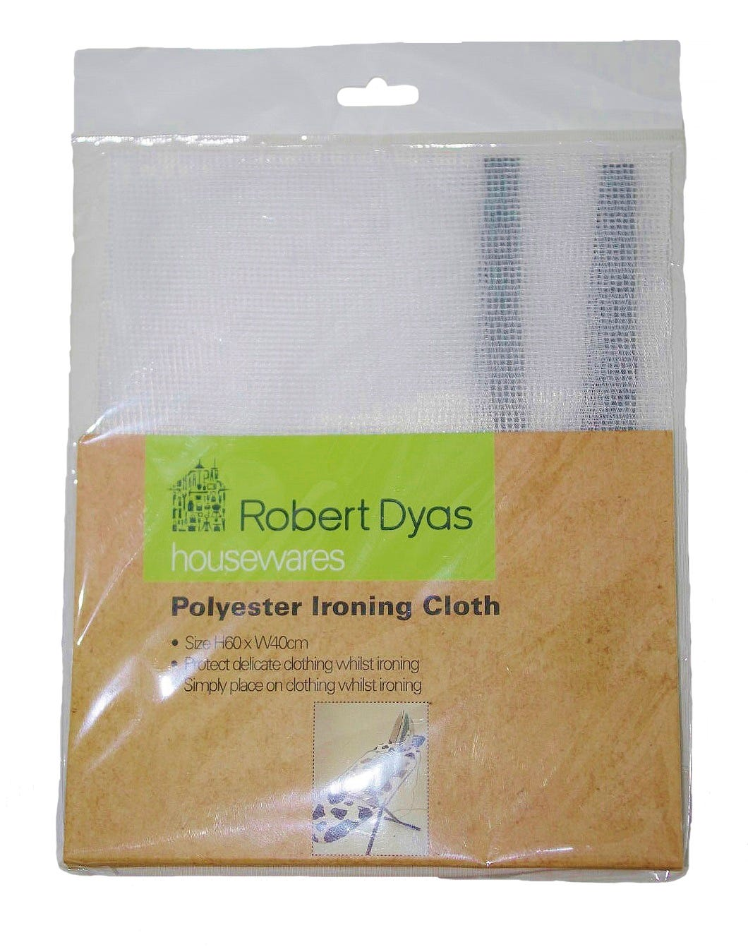 Robert Dyas/Cleaning & Decorating/Cleaning Power/Robert Dyas Ironing Cloth
