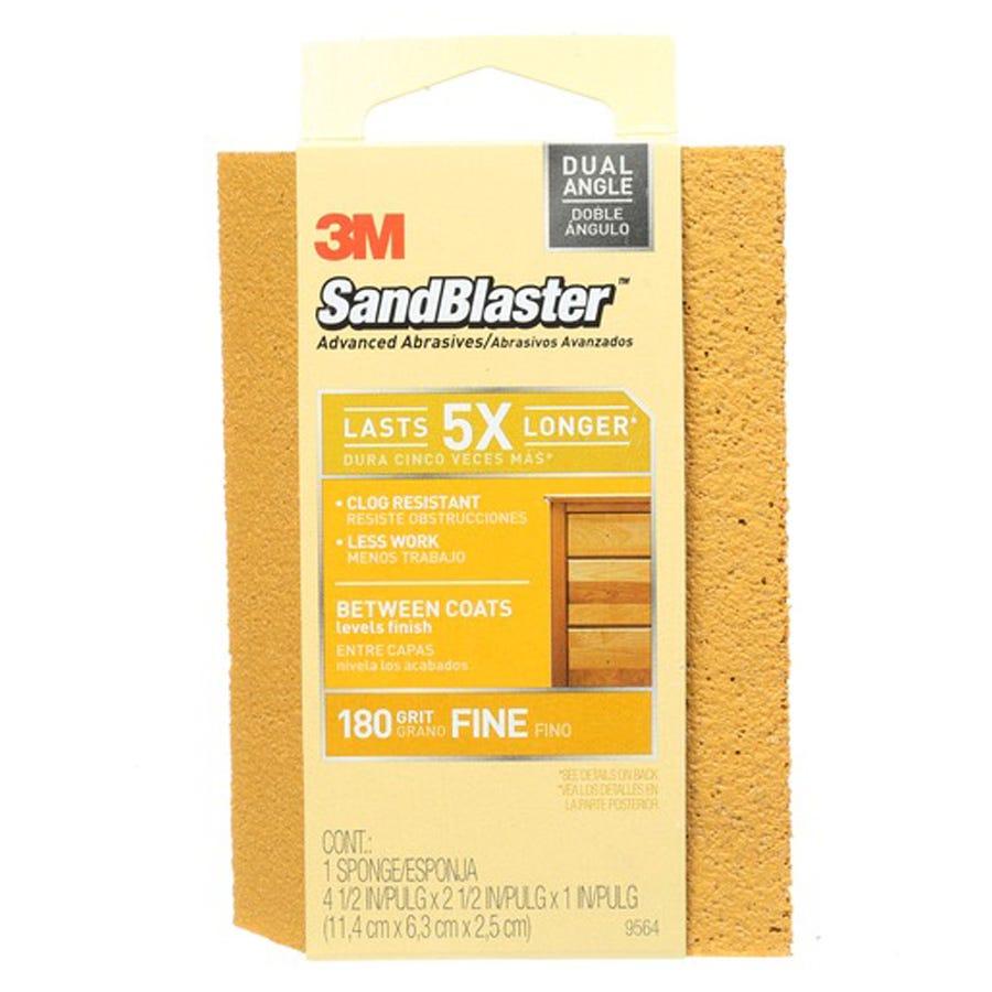 3M Dual-Angle Fine Sanding Sponge