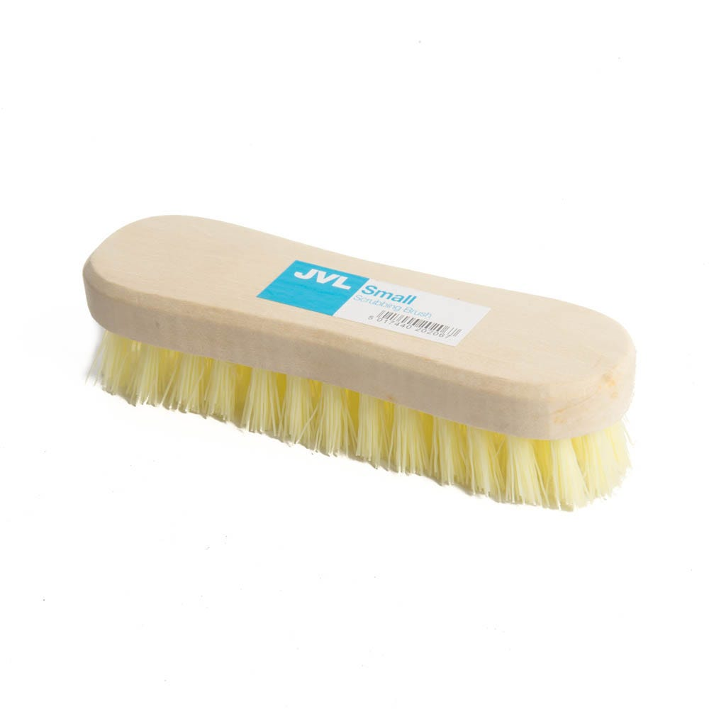 Robert Dyas/Cleaning & Decorating/Cleaning Equipment/JVL Small Scrubbing Brush