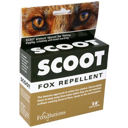 Compare prices for Foxolutions Scoot Fox Repellent 100g