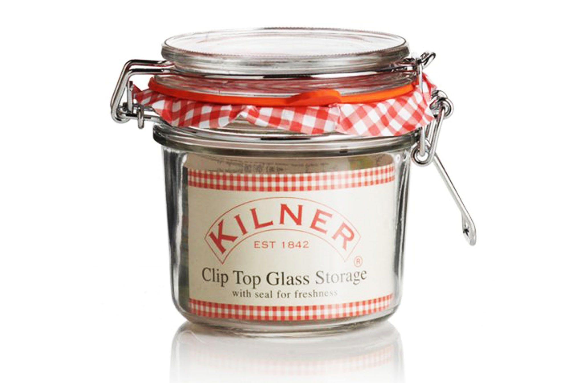 Compare prices for Kilner Preserve 0.35L Clip Top Round Jar
