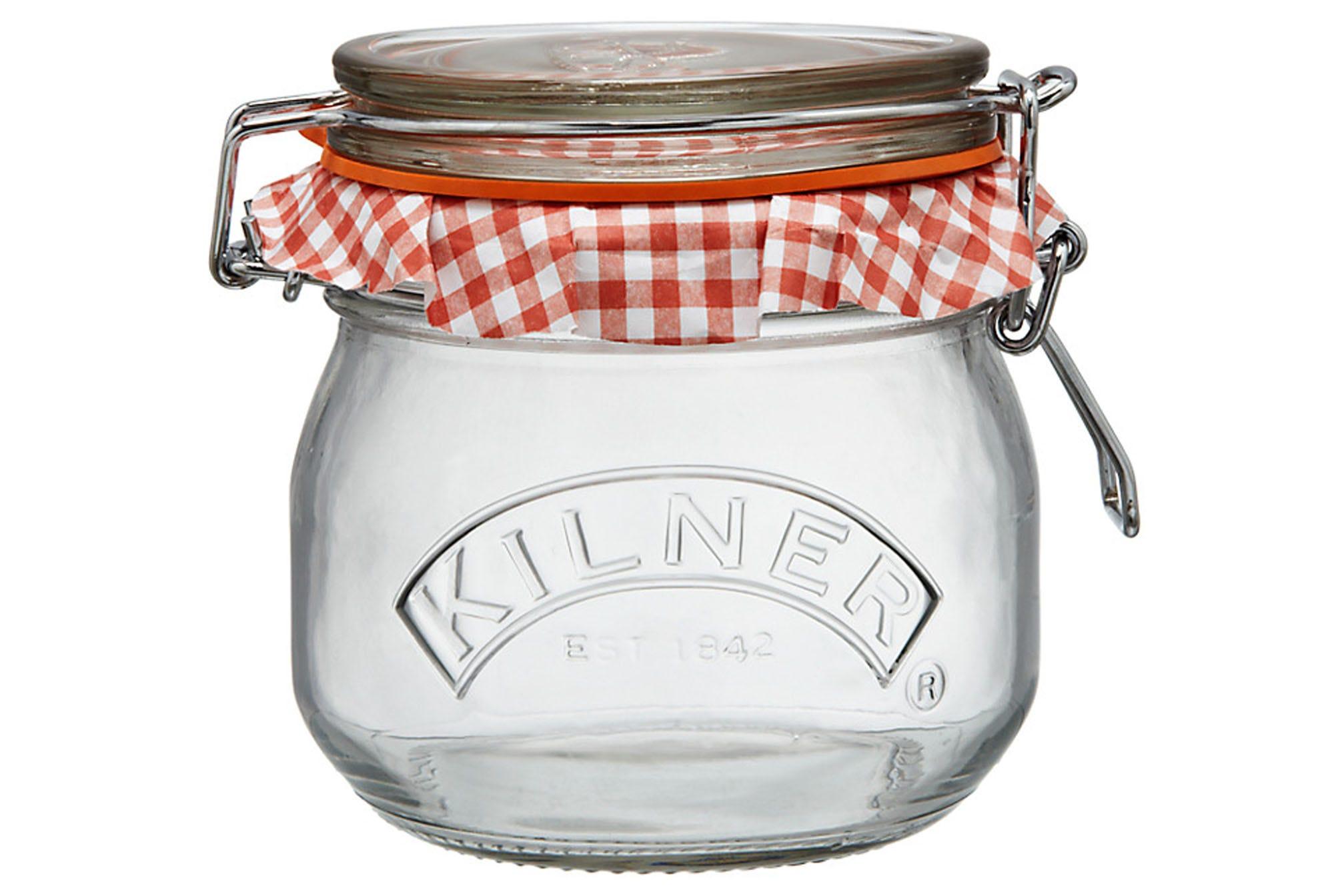 Compare prices for Kilner Preserve 0.5L Clip Top Round Jar