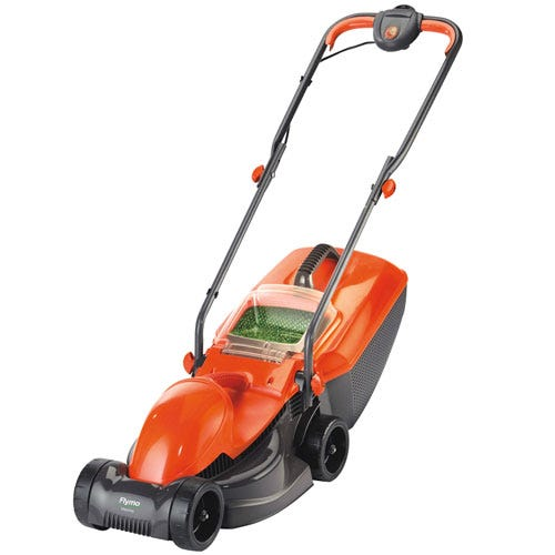 Compare prices for Flymo Visimo 1200W Roller Rotary Lawnmower