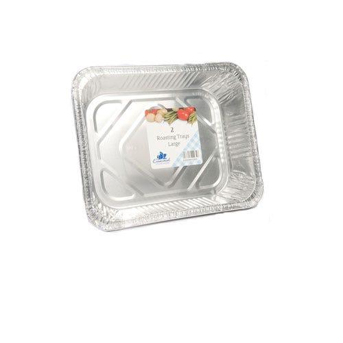 Compare prices for Essential Housewares Essentials Alluminium Large Roaster 2 Pack