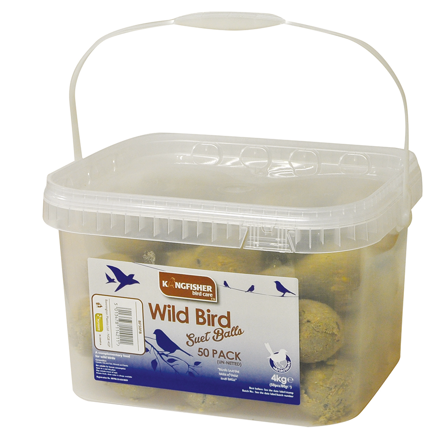 Compare prices for Kingfisher Suet Fatballs - 50 Pack