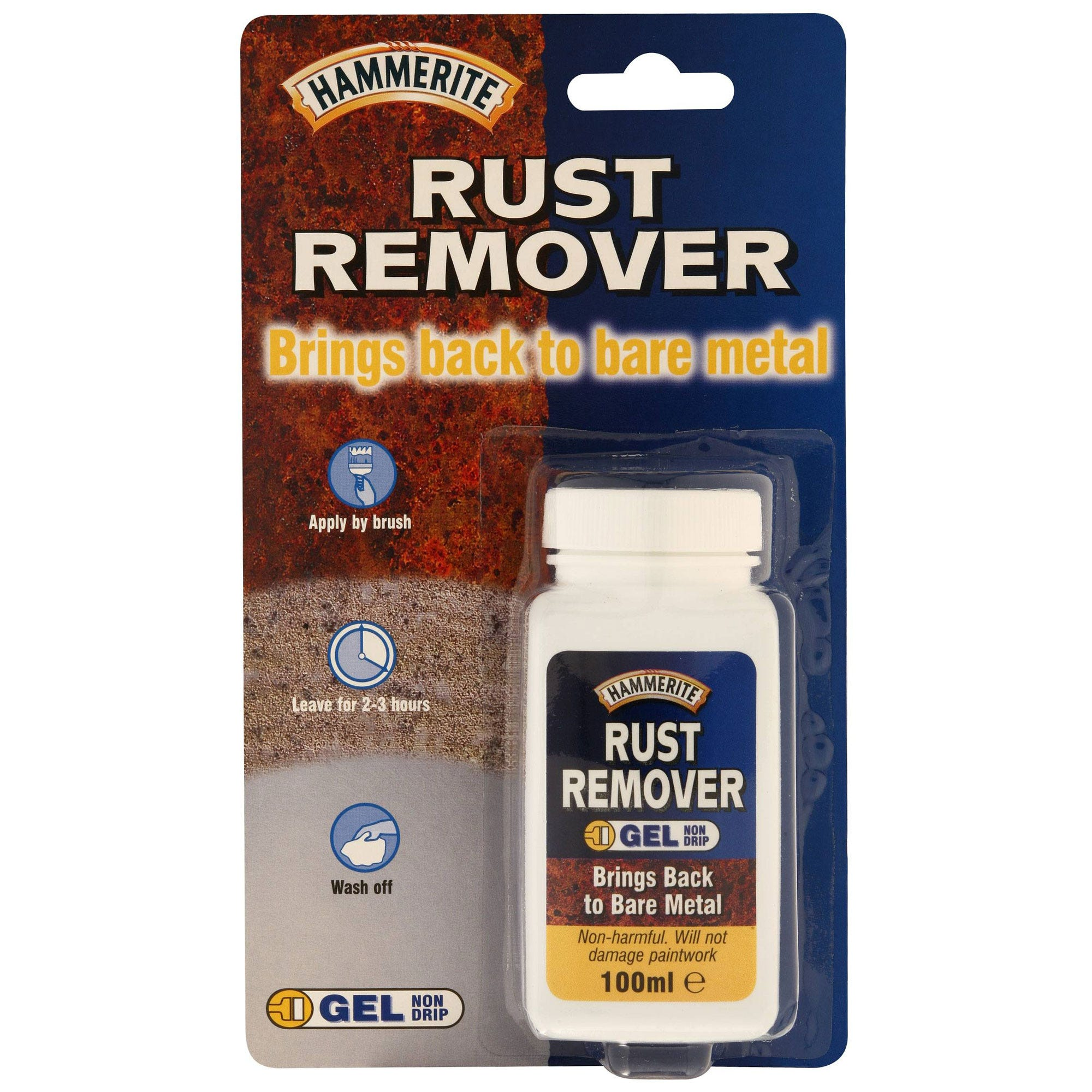 Image of Hammerite Rust Remover Gel – 100ml