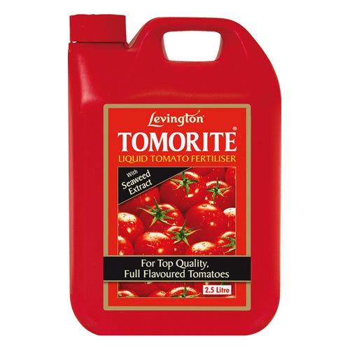 Image of Levington Tomorite Liquid Tomato Fertiliser – 2.5L