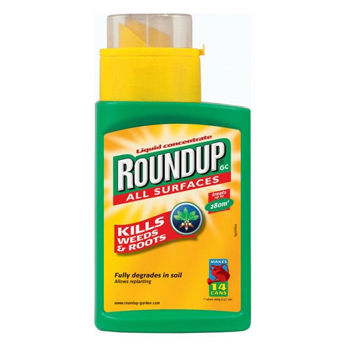 Image of Roundup Liquid Concentrate Weedkiller