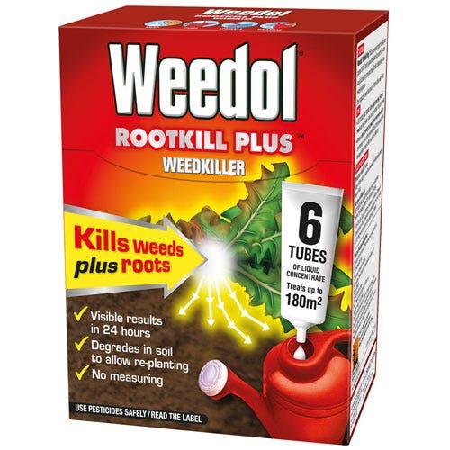 Image of Weedol Rootkill Plus Weedkiller - 6 Tubes