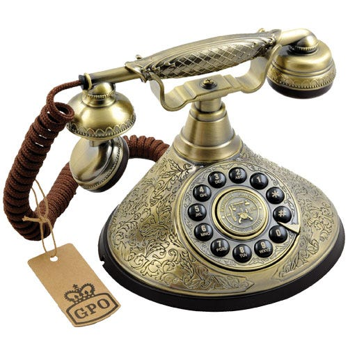 Compare prices for GPO Duchess Nostalgic Design Telephone