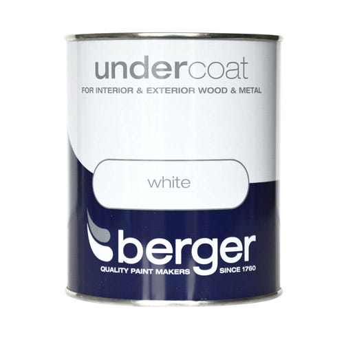 Compare cheap offers & prices of Berger Wood and Metal Undercoat - 750ml manufactured by Berger