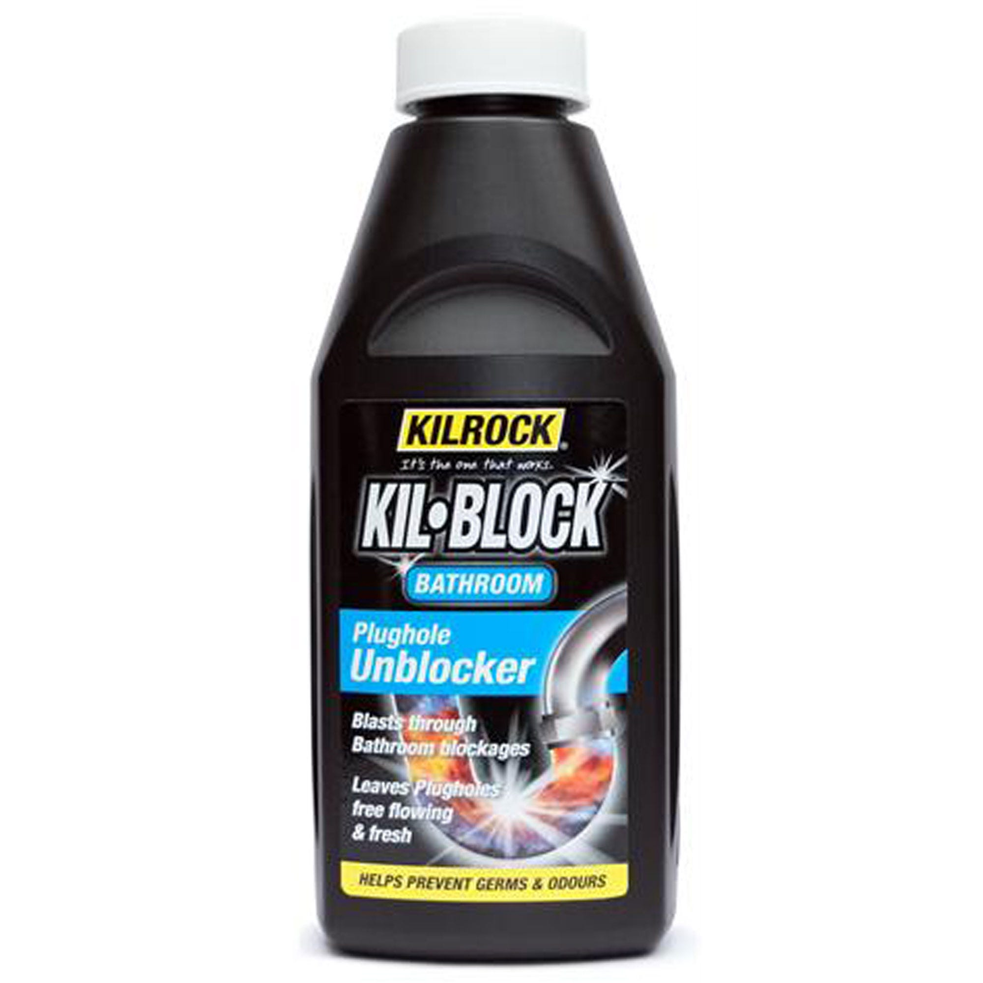 Image of Kil-Block Bathroom Plughole Unblocker – 500ml