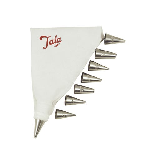 Compare prices for Tala Icing Bag Set with 8 Nozzles