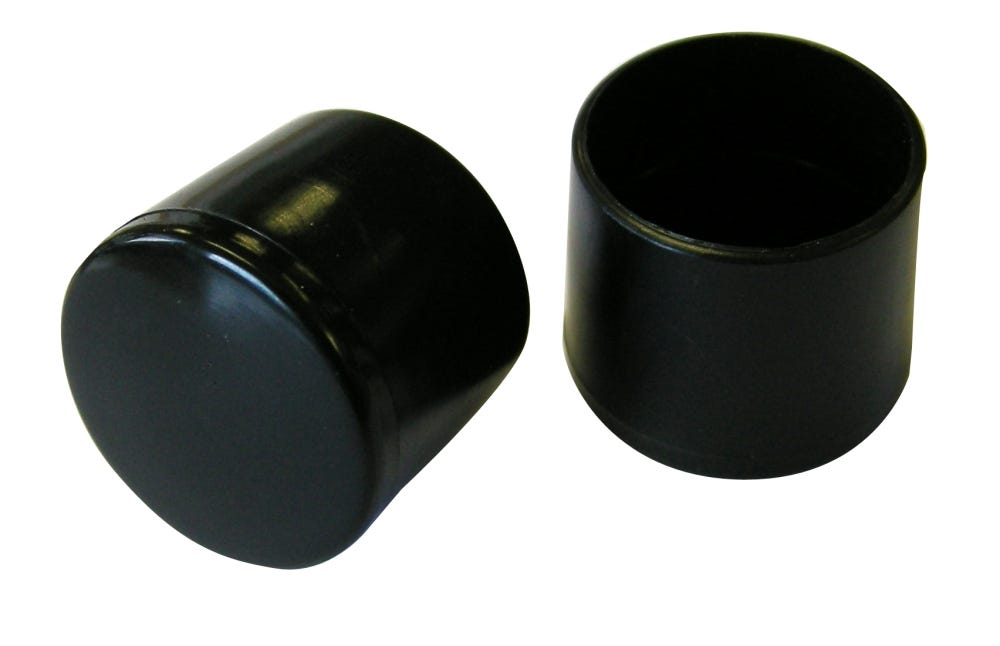 Robert Dyas/Building & Timber Products/Doors & Floors/Select Hardware Chair Ferrule Black 25mm (1 Pack)
